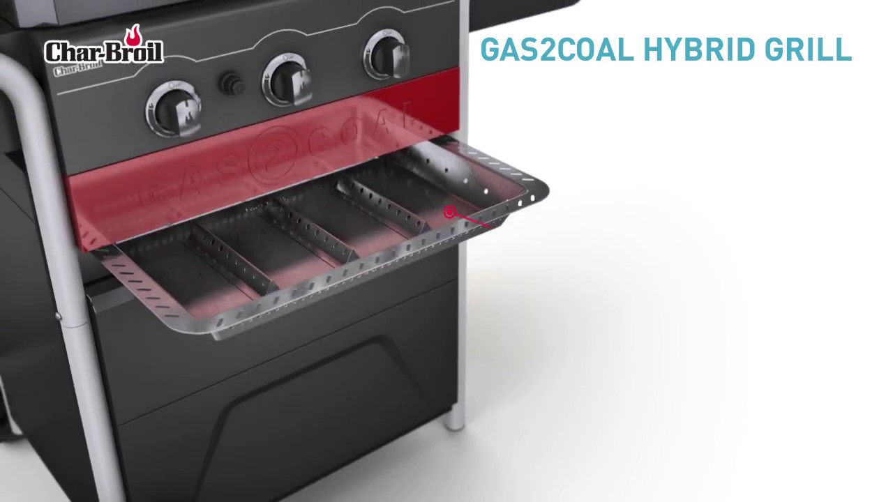 Char Broil Hybridgrill Gas2coal Discover All The Features
