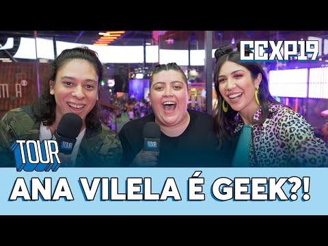 Ana Vilela ROUBA o microfone de Foquinha e Victor Meynie  Tour na CCXP  Música Multishow