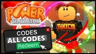 Roblox [STORM] 🌩️Power Simulator Neue Alle Codes!