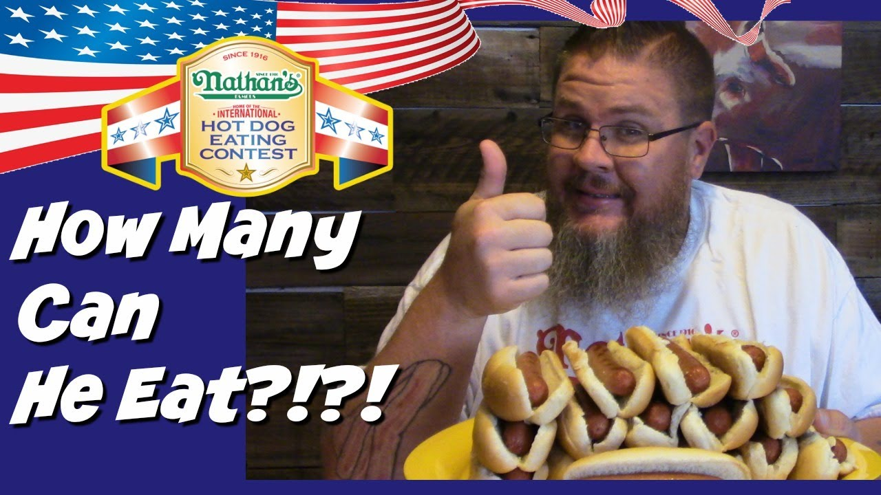Youtube Nathan S Hot Dog Eating Contest