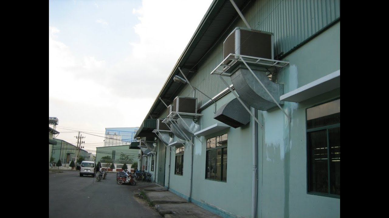 industrial evaporative cooling equipment air coolers for