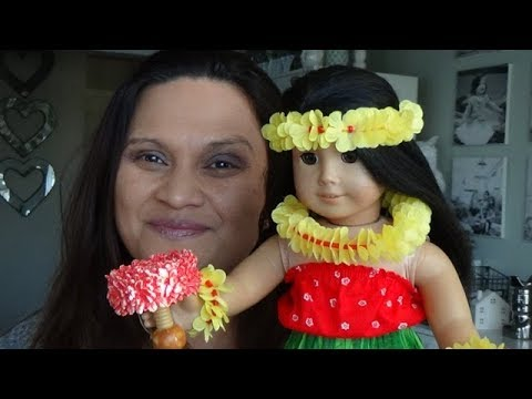 American Girl: Nanea Hula Outfit And Implements