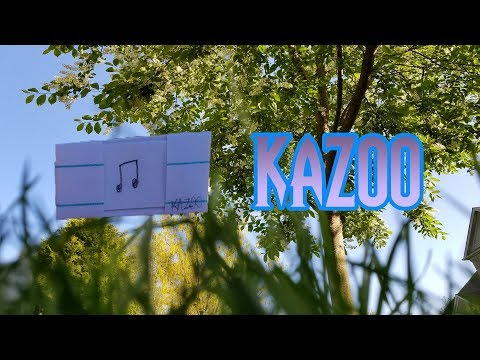 How to Make a Paper Kazoo/Whistle