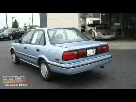 Used 1992 Toyota Corolla Burlington WA