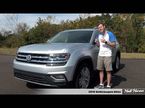 Review: 2018 Volkswagen Atlas SEL Premium