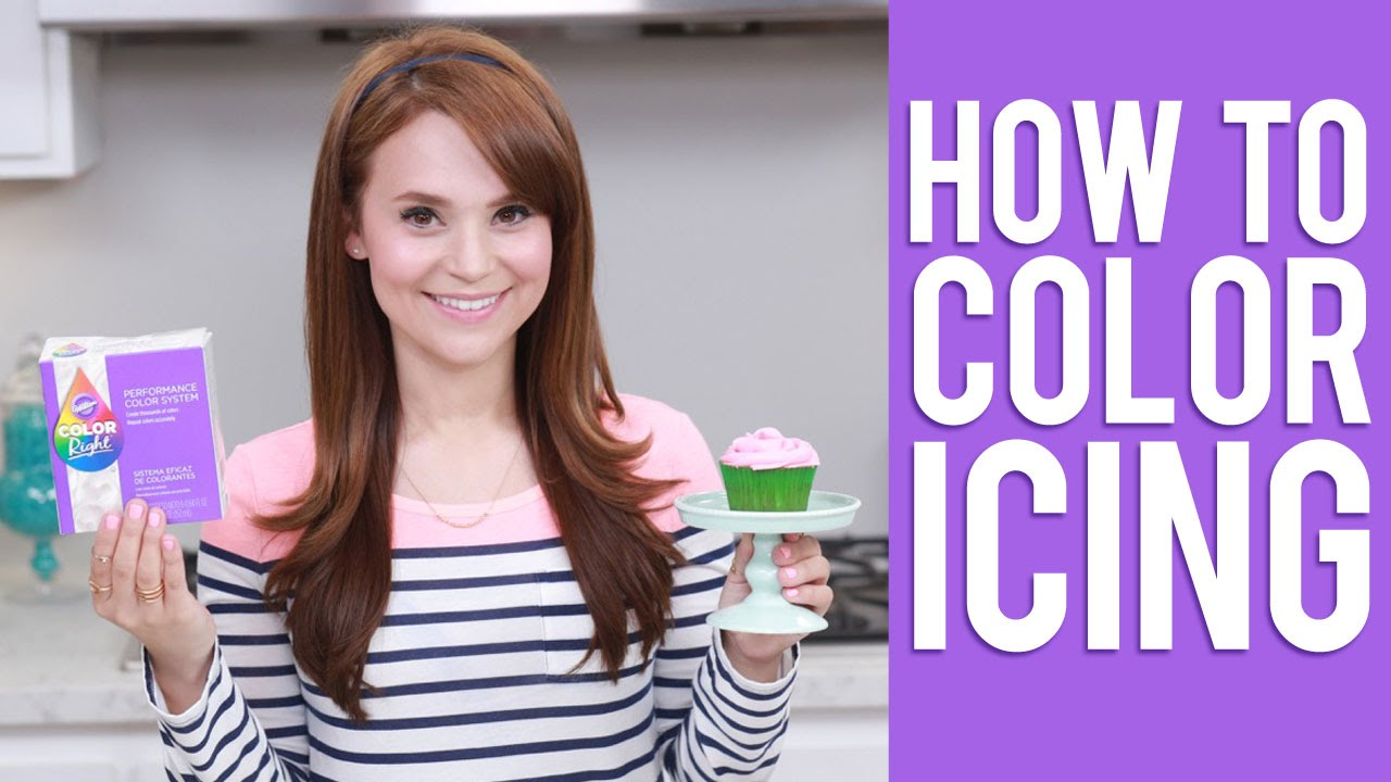 How To Color Icing Rosanna Pansino Video Tutorial Youtube
