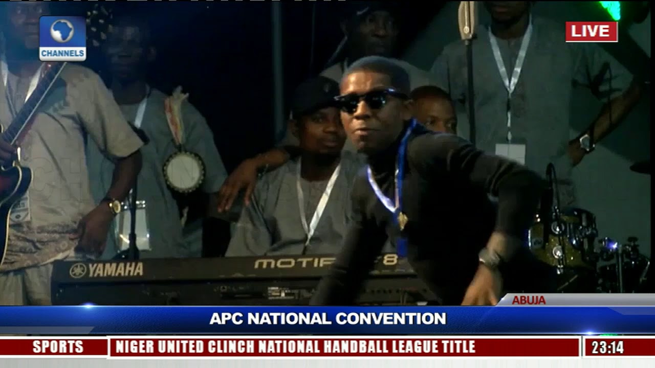 Small Doctor, Dauda Abdulahi Kauku Perform At APC Convention Pt.1