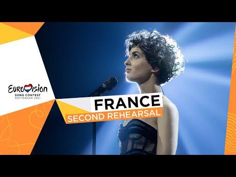 Barbara Pravi - Voilà - Second Rehearsal - France 🇫🇷 - Eurovision 2021