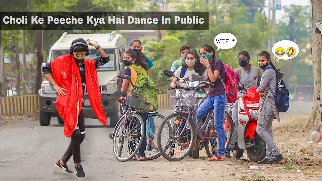 Download Best Bollywood Dance In Public || Epic Reaction 😂 || Aadesh Parihar ||