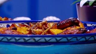 الدجاج بتتبيلة العسل والصويا - ديما حجاوي