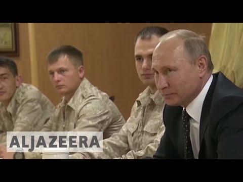 Putin orders Russian troops