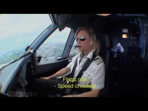 Pilotseye.tv - Swiss Airbus A340 Zurich Departure [English Subtitles]