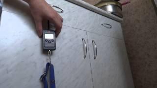 Весы электронные безмен кантер точность 10г, 40 кг