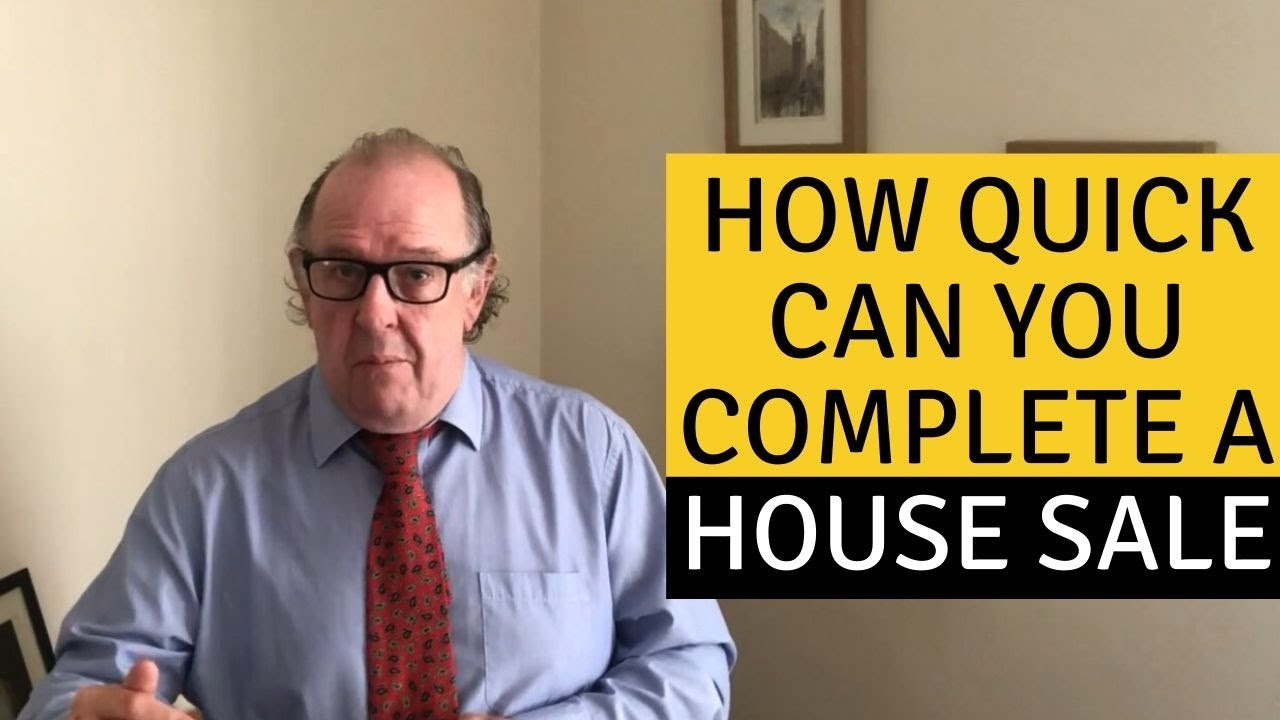 How Quick Can You Complete a House Sale