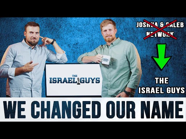 Official Launch of The Israel Guys (authentic stories from Israel)