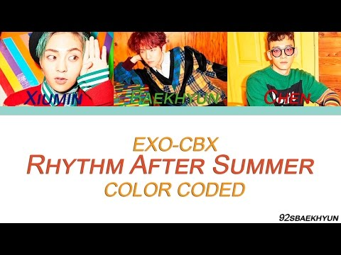 EXO-CBX (첸백시) - Rhythm After Summer |Sub. Español + Color Coded| (HAN/ROM/ESP)