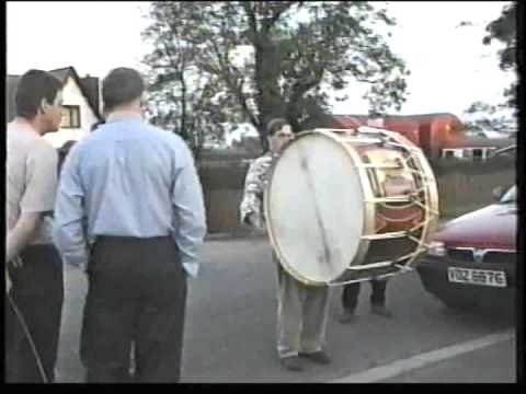 Lambeg drums 1998-99