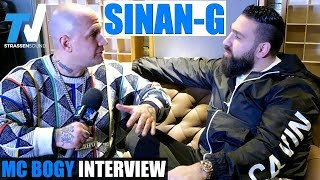 SINAN-G Special Interview mit MC Bogy in Berlin | TV Strassensound
