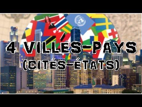4 CITES-ETATS (villes-pays) - TOP GEO #2