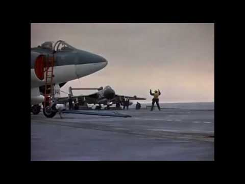 Jet Aircraft Operations aboard HMS Hermes 1960s