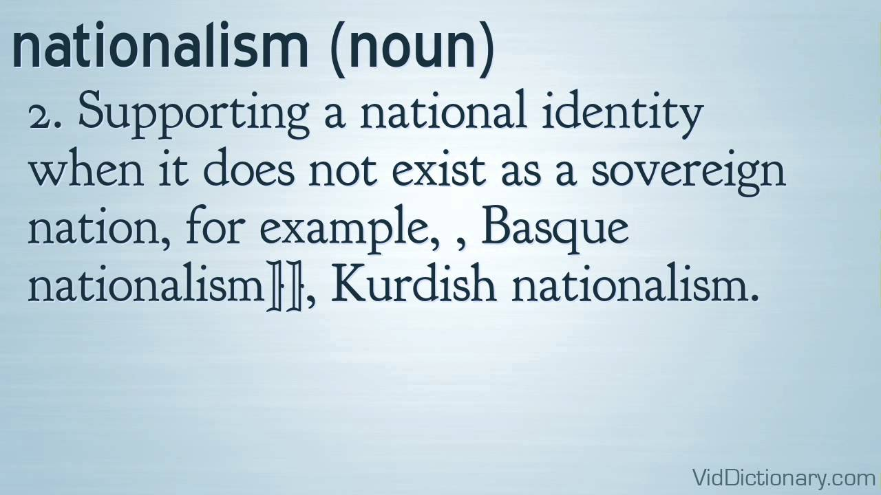 to what extent was nationalism the Nationalism is an intense form of patriotism or loyalty to one's country nationalists exaggerate the value or importance of their country and place its interests above those of other.