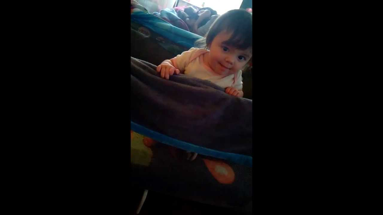 b25ef7f12 advanced 6 month old baby standing and bouncing around - YouTube