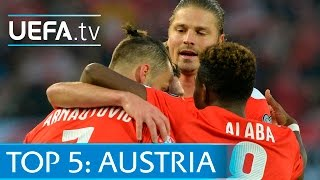 Top 5 Austria EURO Qualifying goals: Alaba, Janko and more
