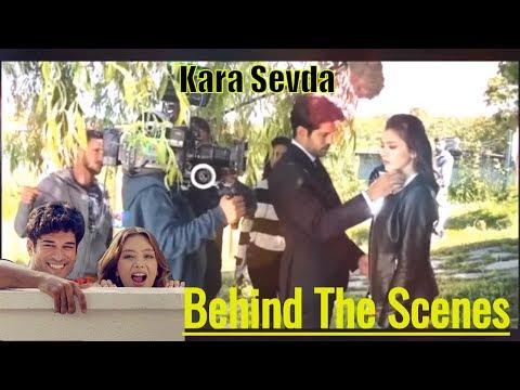 Kara Sevda Behind The Scenes : Burak , Neslihan & Kaan On Sets