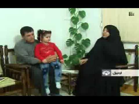 asghar_oslo_دختر ۳ ساله نابغه اردبیلی