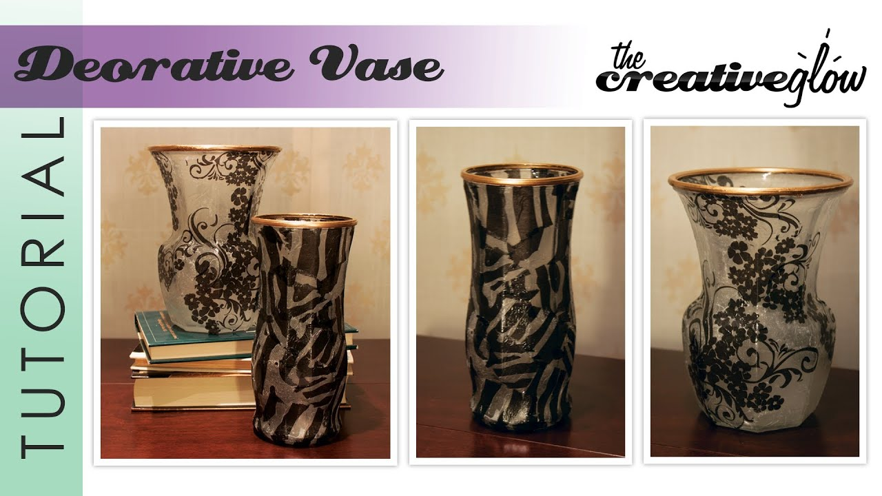 Decorative vase tutorial frosted look easy handmade gift idea decorative vase tutorial frosted look easy handmade gift idea youtube reviewsmspy