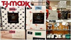 Shop With ME TJ MAXX BEDDING BATHROOM DECOR IDEAS CYNTHIA ROWLEY DKNY WALK THROUGH 2018