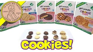 Girl Scouts Cookie Oven 5 Mix Refill Packs - Introduction Video