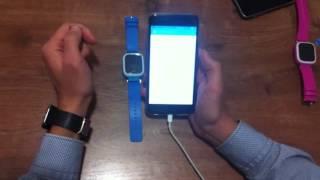 видео детские часы телефон с gps трекером
