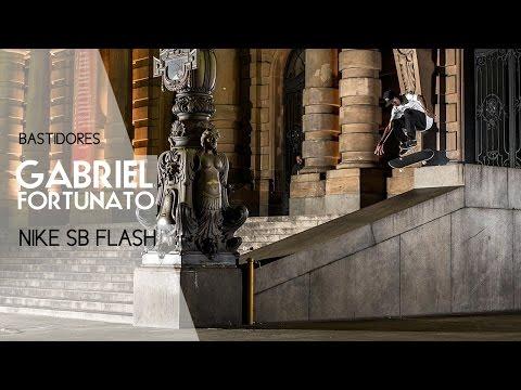 Gabriel Fortunato Nike SB Flash   Bastidores