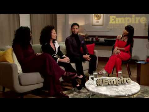 EmpireFox - W/ Sanaa Hamri, Jussie Smollett & Ta'Rhonda Jones