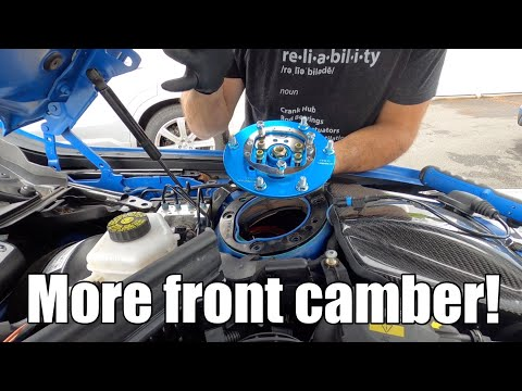 DIY Camber Plates Install on a BMW M2, M3, M4 (F80, F82, F83, F87) and more!