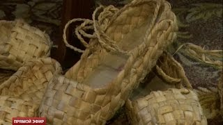 Липовая мода: житель Сысерти плетёт одежду и обувь из лыка