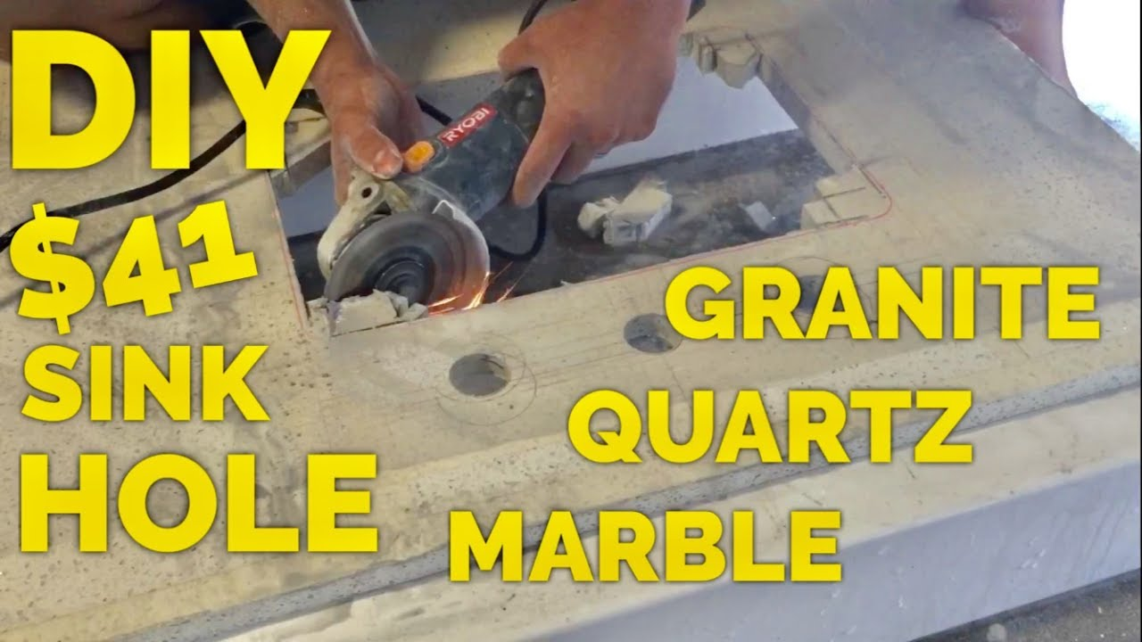 41 Diy How To Cut A Sink Hole In Granite Marble Or Engineered Quartz