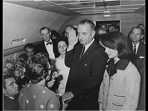 Lyndon Johnson Swearing in Nov 22  1963   YouTube Lyndon Johnson Swearing in Nov 22  1963