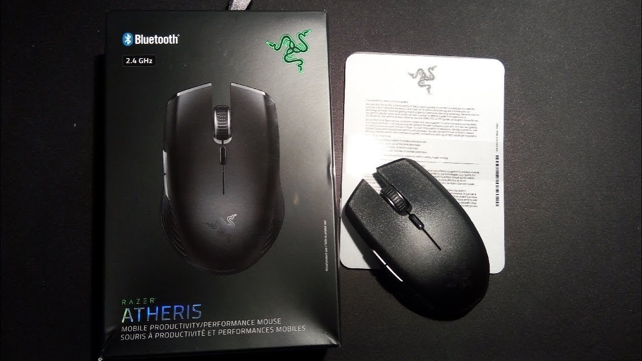 1795cbf78c0 Razer Atheris Wireless Mouse First Impressions - YouTube