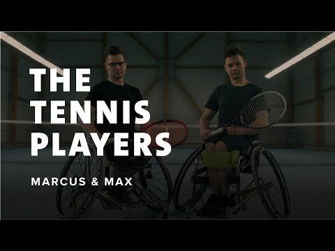 Marcus & Max, The Tennis Players - Redefine Your Limits