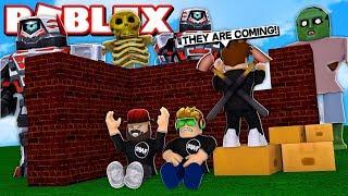 BLOX4FUN SQUAD BUILD & SURVIVE in ROBLOX
