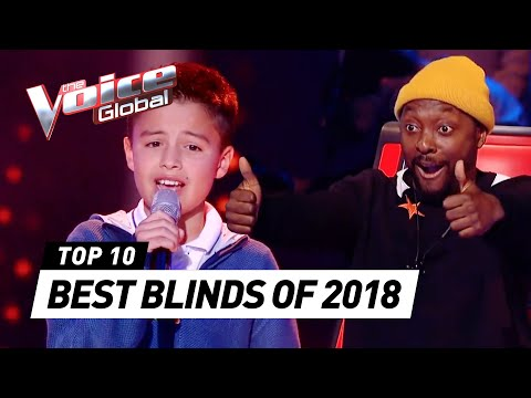 TOP 10 | BEST BLIND AUDITIONS OF 2018 | The Voice Kids Rewind