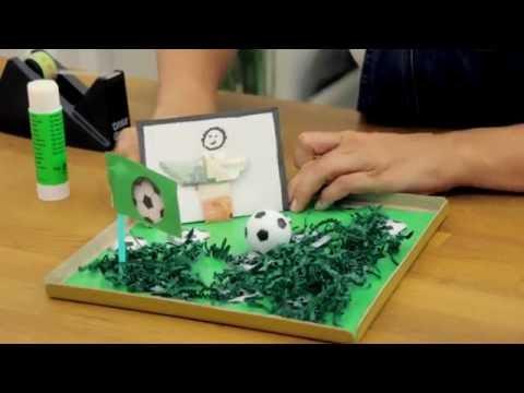 Mannergeschenk Geldgeschenk Fussball Diy Schon Einpacken