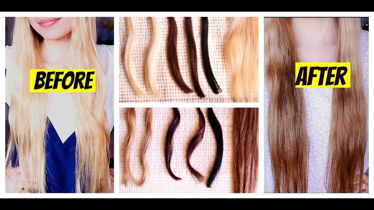How To Darken Blonde Hair Naturally