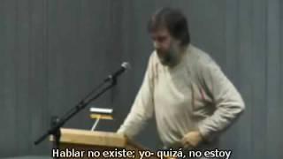 """Why only atheists can truly believe"" por Slavoj Zizek- Parte 1 ( v.o.s.e.)"