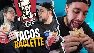 On goûte le Tacos Raclette de chez KFC avec Dobby & Pidi ! (archi validé)