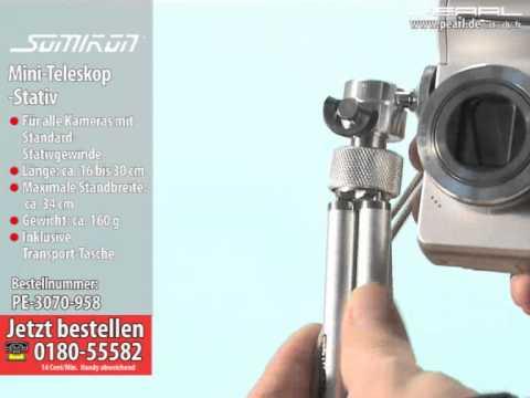 Mini teleskop stativ bis mm ausziehbar für digital kameras