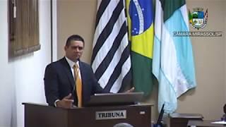 14ª Sessão Ordinária - Vereador Sérgio Leiteiro