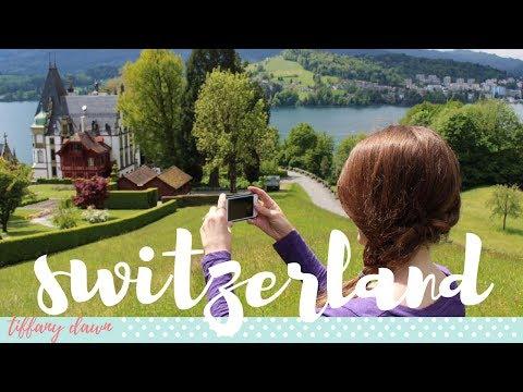 SWITZERLAND + THE ALPS | Europe Vlog 2017 (Part 2/6)